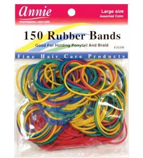 Annie 150 Colourful Rubber Bands