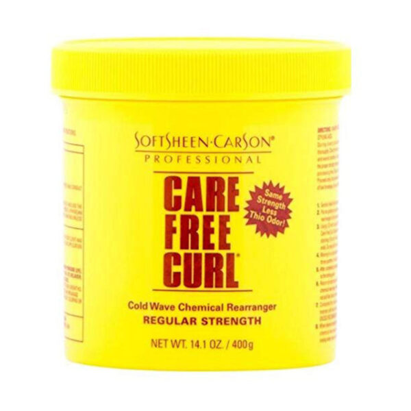 Care Free Curl Cold Wave Chemical Rearranger Regular Strength 400g