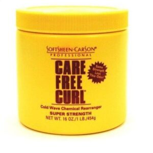 Care Free Curl Cold Wave Chemical Rearranger Super Strength 400g