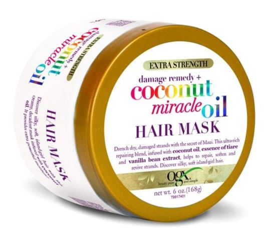 OGX Extra Strength Damage Remedy and Coconut Miracle Oil Hair Mask 168g