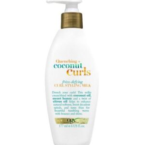 OGX Quenching and Coconut Curls Frizz Defying Curl Styling Milk 177g