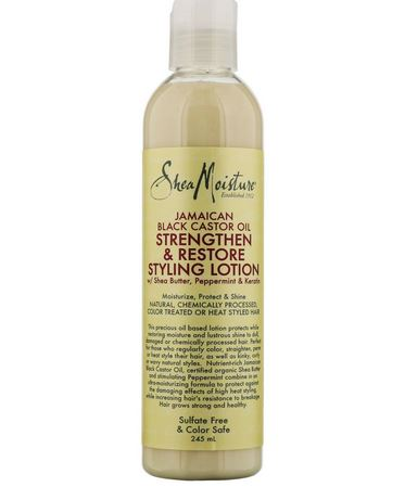 Shea Moisture Jamaican Black Castor Oil Strengthen and Restore Styling Lotion 237ml
