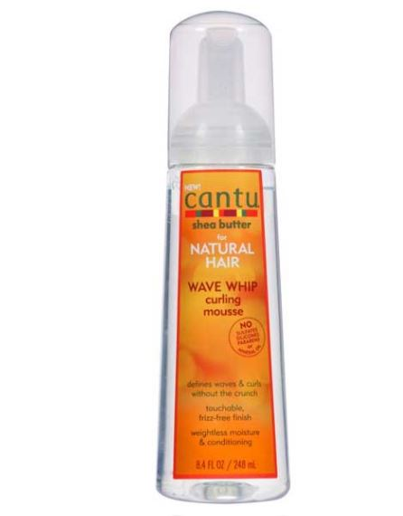 Cantu Whip Wave Curling Mousse 248ml