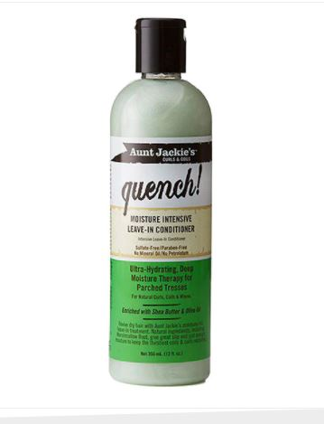 Aunt Jackie's Quench Moisture Intensive Leave In Conditioner