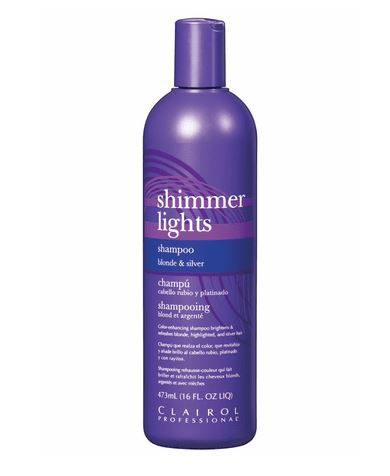 Clairol Shimmer Lights Shampoo Blonde and Silver 473ml