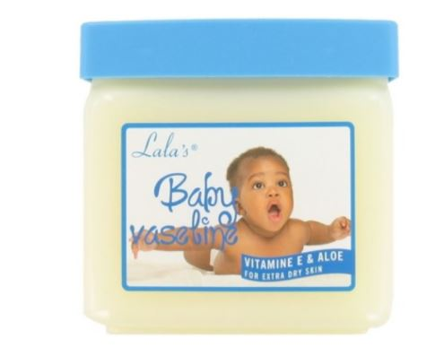 Lala's Soothing and Moisturizing Baby Vaseline Vitamin E and Aloe 368g