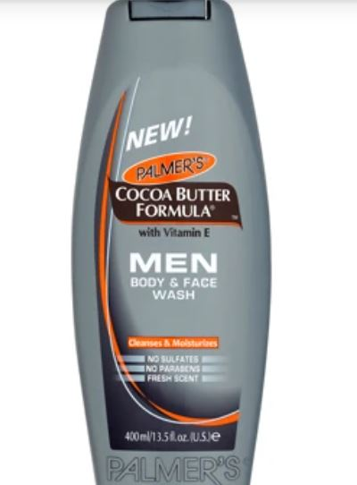 Palmer's Cocoa Butter Formula Men Body and Face Wash 400ml